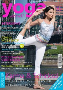 Bee Bosnak Cover Girl Yoga Magazine